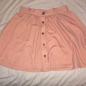 Tobi Baby Pink Skirt
